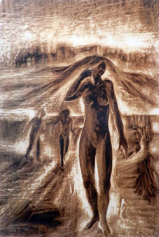 Figure in cammino, 1965